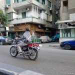 Cairo motorcyclist